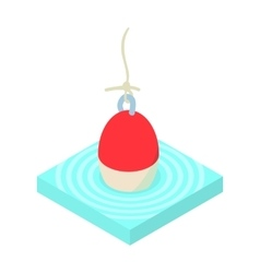 Fishing float icon cartoon style vector image vector image