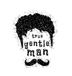 gentleman style vector image vector image