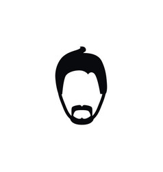 Isolated modern gentleman icon mister vector