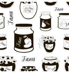 Jam set pattern vector image