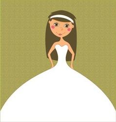 Wedding inviation design vector