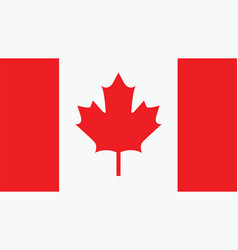 canada flag for independence day and infographic vector image