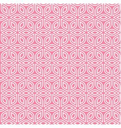 Abstract isometric pattern vector
