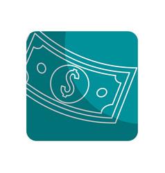 Logotype bill dolar money vector