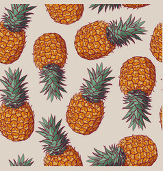 seamless pattern with of vector image vector image