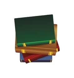 Book traditional reading lerning icon vector