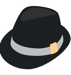 Fedora hat vector