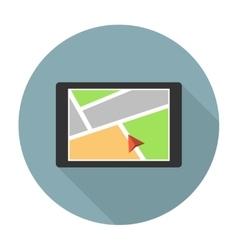 Car navigation device vector