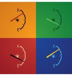 Fuel gage vector image vector image