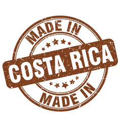 Made in costa rica vector