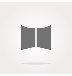 Open book Icon Open book Icon UI Open book Icon vector image