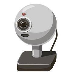 Webcam icon cartoon style vector image