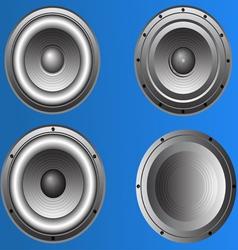 4 loudspeakers 3 vector