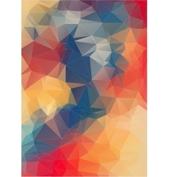 abstract background consisting of angular vector image vector image