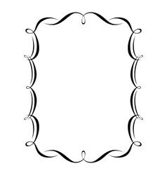 calligraphy ornamental vector image vector image