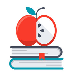 knowledge icon vector image