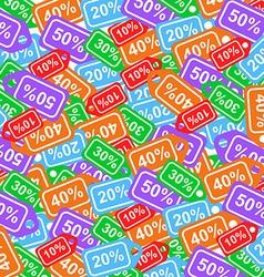 Sale labels background - sale 10 - 50 percent text vector