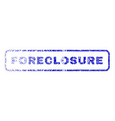 Foreclosure rubber stamp vector