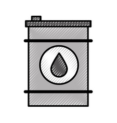 Oil petroleum barrel vector