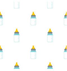 Feeding bottle pattern seamless vector