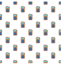 portable radio pattern seamless vector image