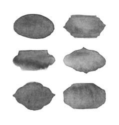 watercolor logo design elements vector image vector image