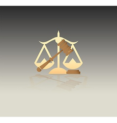 JusticeSymbols vector image
