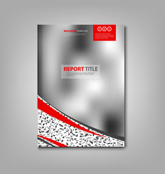 Brochures book or flyer with abstract blurry vector