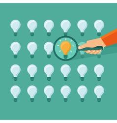 Idea search vector