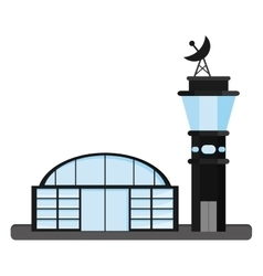 isolated airport icon vector image