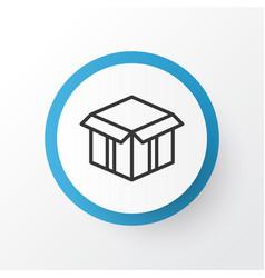 Open box icon symbol premium quality isolated vector