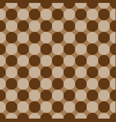 Polka dot geometric seamless pattern 402 vector