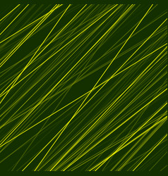 Abstract green neon lines background vector