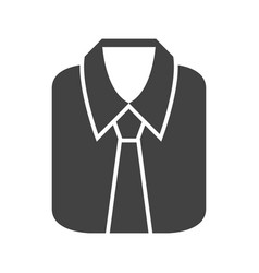 formal shirt vector image