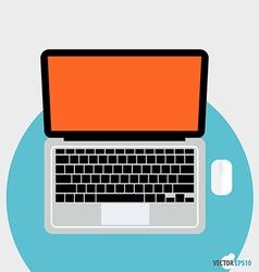 Modern Flat design concept Business working vector image