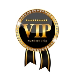 Vip members label vector