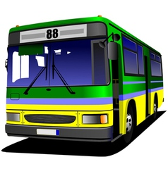 al 0613 bus 05 vector image