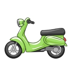 Scooter cartoon vector