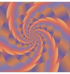 Fractal design colorful sphere colored spiral vector