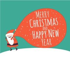 Card new year 2 vector