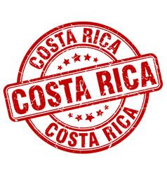 Costa rica stamp vector