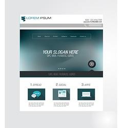 webZ vector image