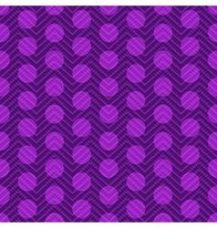 Seamless violet vintage pattern vector image