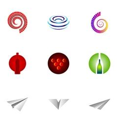 logo design elements set 26 vector image