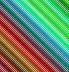 Abstract colorful diagonal line pattern background vector