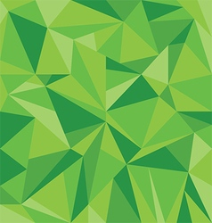 Abstract Green Triangle Geometrical Background vector image vector image