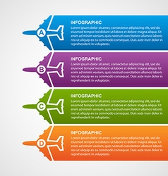 Airlines travel infographics vector image