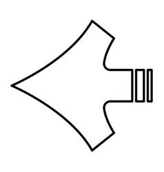 Arrow shape vector