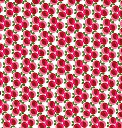 mod rose pattern vector image