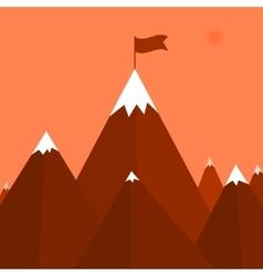 A mountain vector